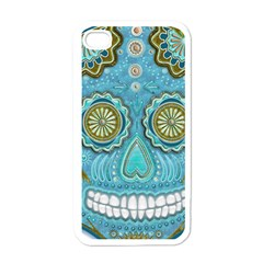 Skull Apple Iphone 4 Case (white)