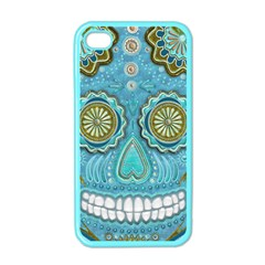 Skull Apple Iphone 4 Case (color)