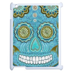Skull Apple Ipad 2 Case (white)