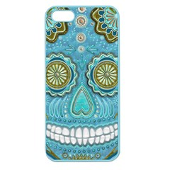 Skull Apple Seamless iPhone 5 Case (Color)