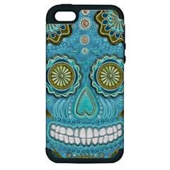 Skull Apple iPhone 5 Hardshell Case (PC+Silicone)