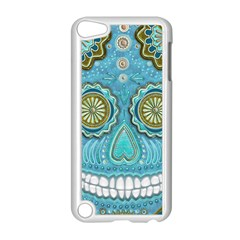 Skull Apple iPod Touch 5 Case (White)