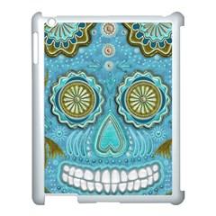 Skull Apple iPad 3/4 Case (White)