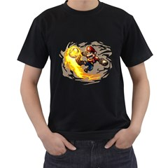 Mario Mens' T-shirt (Black)