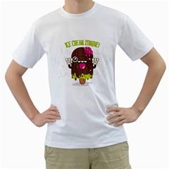 I scream...  Mens  T-shirt (White)