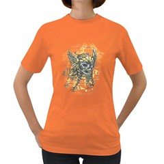 Pirate Skull Womens' T Shirt (colored)