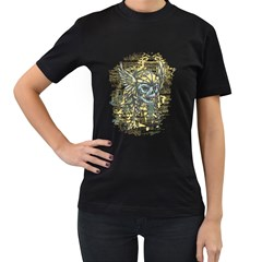 Pirate Skull Womens' T Shirt (black)