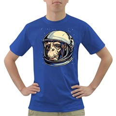 SpaceMonkey Mens' T-shirt (Colored)
