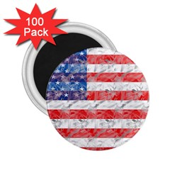 Flag 2 25  Button Magnet (100 Pack)