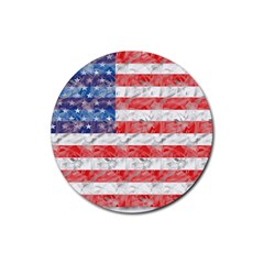 Flag Drink Coasters 4 Pack (Round)