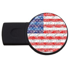Flag 2gb Usb Flash Drive (round)