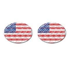 Flag Cufflinks (Oval)
