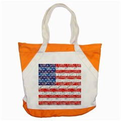Flag Accent Tote Bag