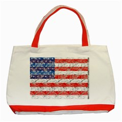 Flag Classic Tote Bag (Red)