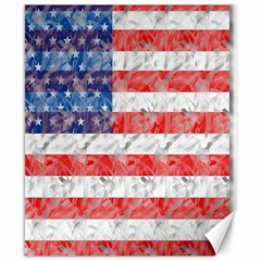 Flag Canvas 8  X 10  (unframed)