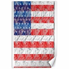 Flag Canvas 24  X 36  (unframed)