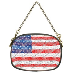 Flag Chain Purse (two Sided)