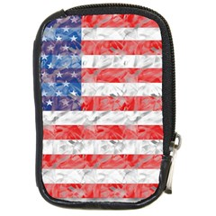 Flag Compact Camera Leather Case