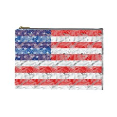 Flag Cosmetic Bag (large)