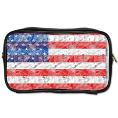 Flag Travel Toiletry Bag (One Side)