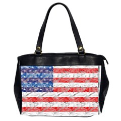 Flag Oversize Office Handbag (two Sides)