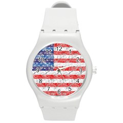 Flag Plastic Sport Watch (Medium)