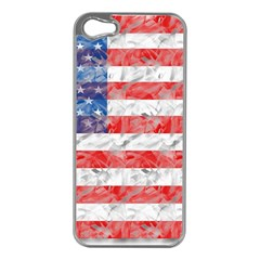 Flag Apple iPhone 5 Case (Silver)