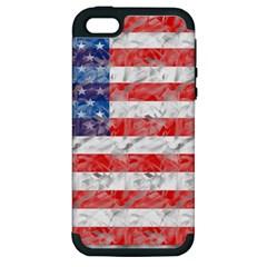 Flag Apple iPhone 5 Hardshell Case (PC+Silicone)