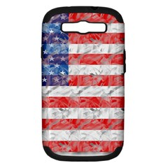 Flag Samsung Galaxy S III Hardshell Case (PC+Silicone)