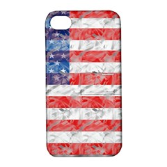 Flag Apple Iphone 4/4s Hardshell Case With Stand