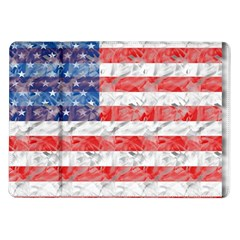 Flag Samsung Galaxy Tab 10.1  P7500 Flip Case