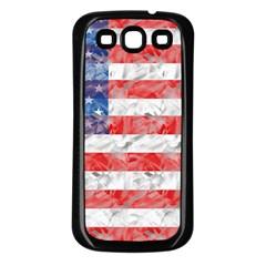 Flag Samsung Galaxy S3 Back Case (Black)