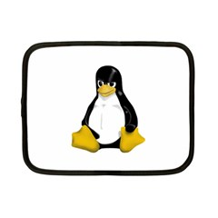 Angry Linux Tux Penguin Netbook Sleeve (small)
