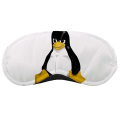 Angry Linux Tux penguin Sleeping Mask