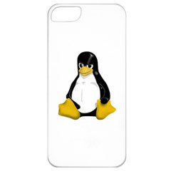 Angry Linux Tux penguin Apple iPhone 5 Classic Hardshell Case