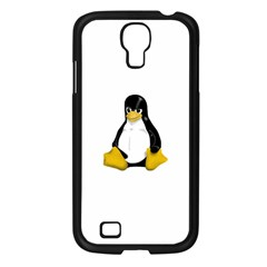 Angry Linux Tux Penguin Samsung Galaxy S4 I9500/ I9505 Case (black)