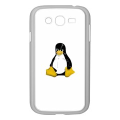 Angry Linux Tux penguin Samsung Galaxy Grand DUOS I9082 Case (White)