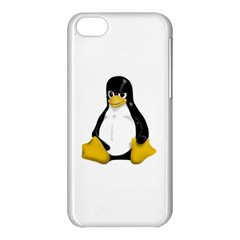 Angry Linux Tux penguin Apple iPhone 5C Hardshell Case