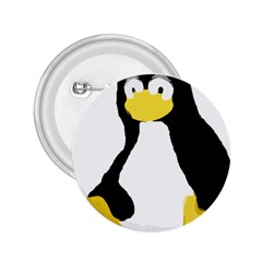 PRIMITIVE LINUX TUX PENGUIN 2.25  Button