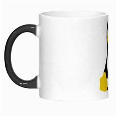 Primitive Linux Tux Penguin Morph Mug