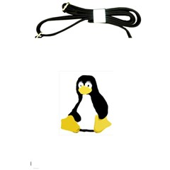 Primitive Linux Tux Penguin Shoulder Sling Bag
