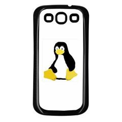 PRIMITIVE LINUX TUX PENGUIN Samsung Galaxy S3 Back Case (Black)