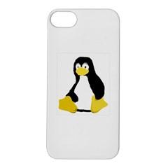 Primitive Linux Tux Penguin Apple Iphone 5s Hardshell Case