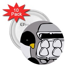 Egg Box Linux 2 25  Button (10 Pack)