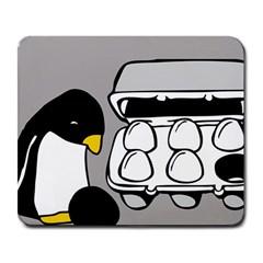 Egg Box Linux Large Mouse Pad (rectangle)