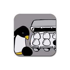 Egg Box Linux Drink Coasters 4 Pack (Square)