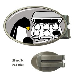 Egg Box Linux Money Clip (Oval)