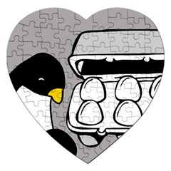 Egg Box Linux Jigsaw Puzzle (Heart)