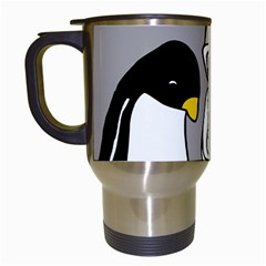 Egg Box Linux Travel Mug (white)
