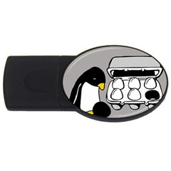 Egg Box Linux 4GB USB Flash Drive (Oval)